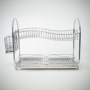 Sabinai Spine Dish Rack + Cutlery Holder